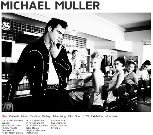 Michael Muller, Fotograf