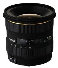 Sigma 10-20mm 4-5,6 EX DC HSM Objektiv für Canon