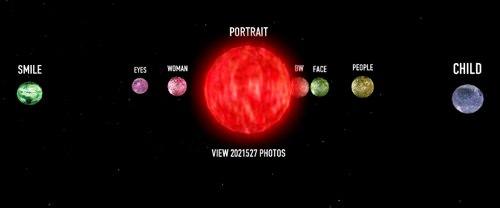 Tag Galaxy : Flickr Fotos mal ganz anders