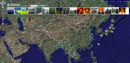 Flickr + Google Maps = Earth Album