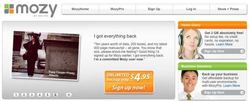Online Backups bei Mozy.com - Ein Erfahrungsbericht