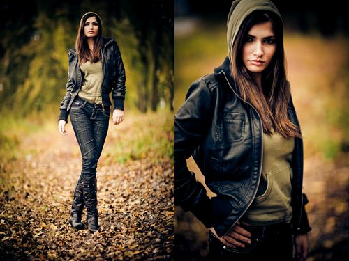 Portrait- und Fashionfotografie ohne Hilfsmittel