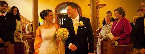 Hochzeiten in der Kirche fotografieren