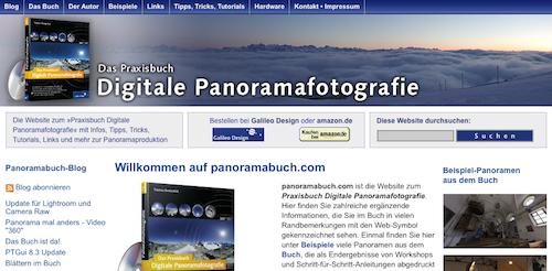 Digitale Panoramafotografie - Das Praxisbuch