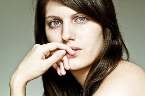 Portrait der Fotografin & des Models: Sara