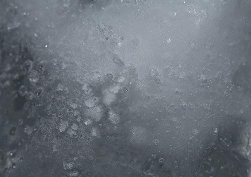 Ein Eiswürfel