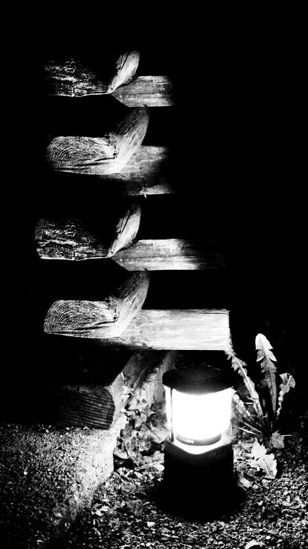 Beispielbild - Laterne Nachtaufnahme