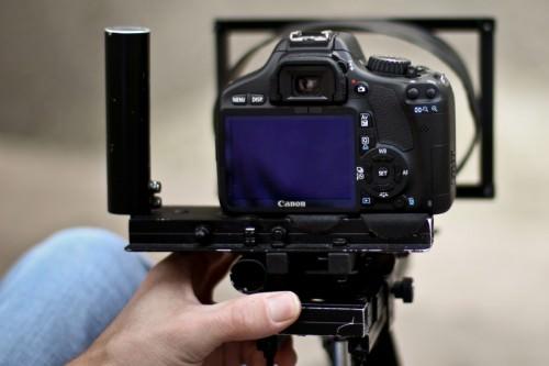 Canon 550D Back