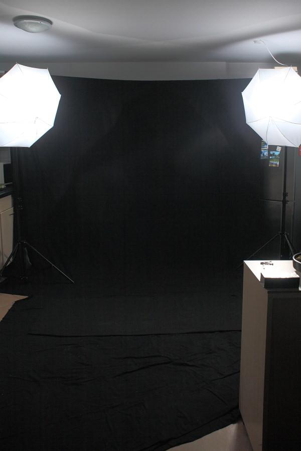 Aktfotografie Setup