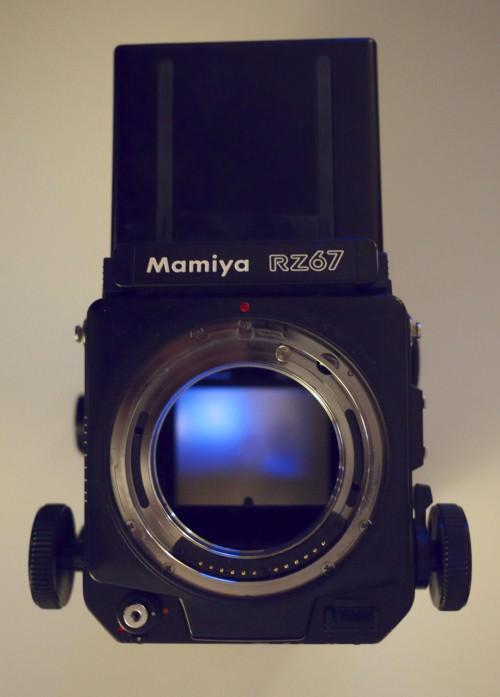 Spiegelkasten der Mamiya RZ67