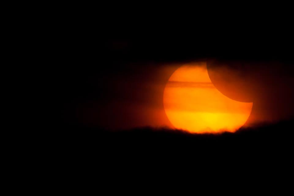 Partielle Sonnenfinsternis über Deutschland