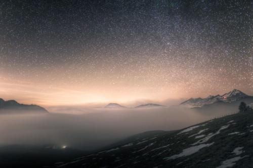 Aecherlipass Nebelmeer