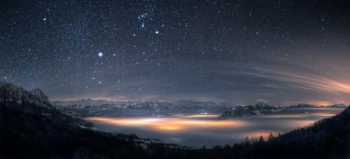 Nebelmeer Panorama