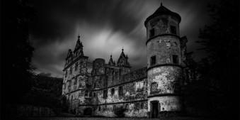 Graufilter, Fotografie, Langzeitbelichtung, schwarzweiss, dunkel, düster, landschaft, architektur