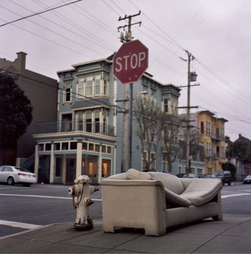 Sofa free, elegant Upper Haight edition | Christopher Hall