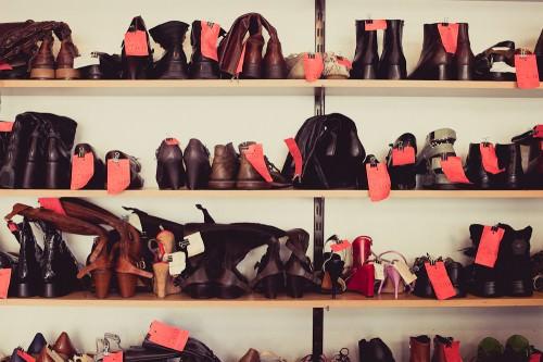 Schuhmacherei: Schuhe
