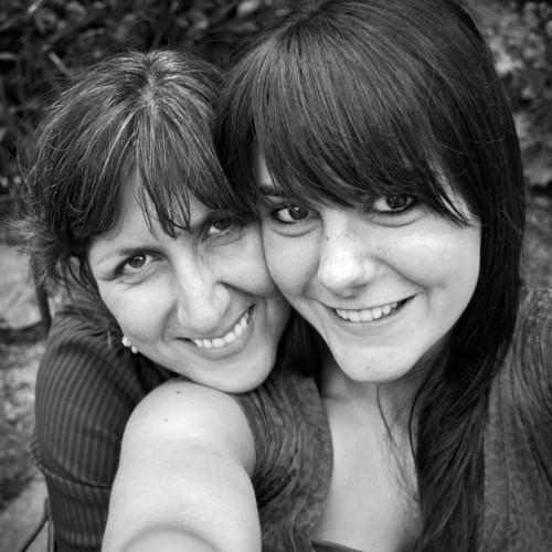 Monika Brand mit Tochter