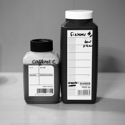 Caffenol & Fixierer
