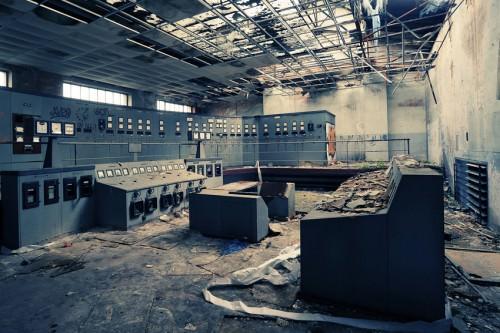 [Bild 2] - Spannung pur - alter Kontrollraum