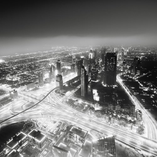 Sheikh Zayed Road 2, Dubai 2011