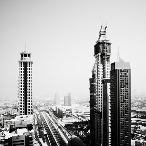 Sheikh Zayed Road 5, Dubai 2011