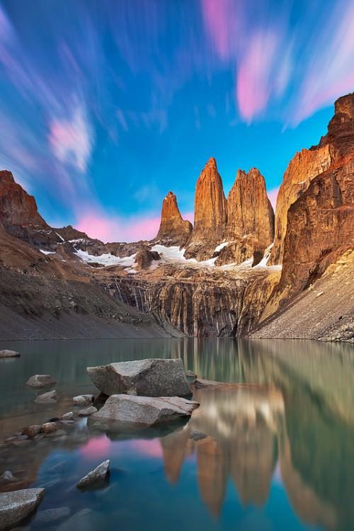 Torres del Paine - Copyright Jörg Bonner