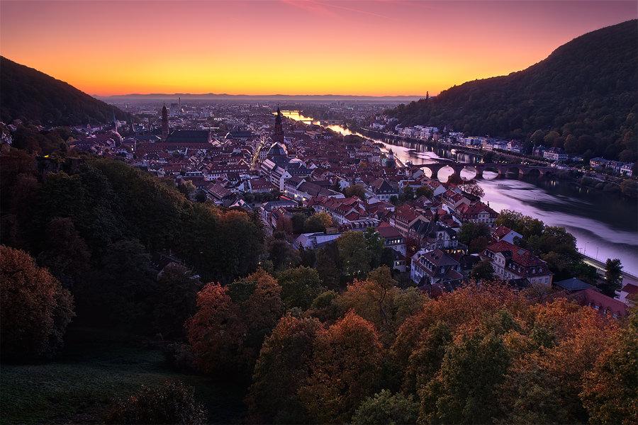 Verlaufsfilter, Landschaft, Landschaftsfotografie, Autumn Twilight