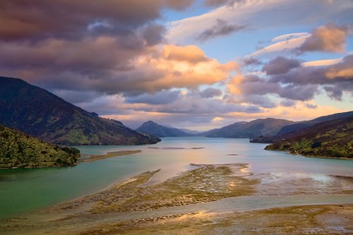 Marlborough Sound - Copyright (c)2008 by Frank Lüdtke. All rights reserved