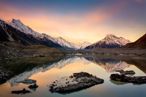 Mount Cook - Copyright (c)2008 by Frank Lüdtke. All rights reserved