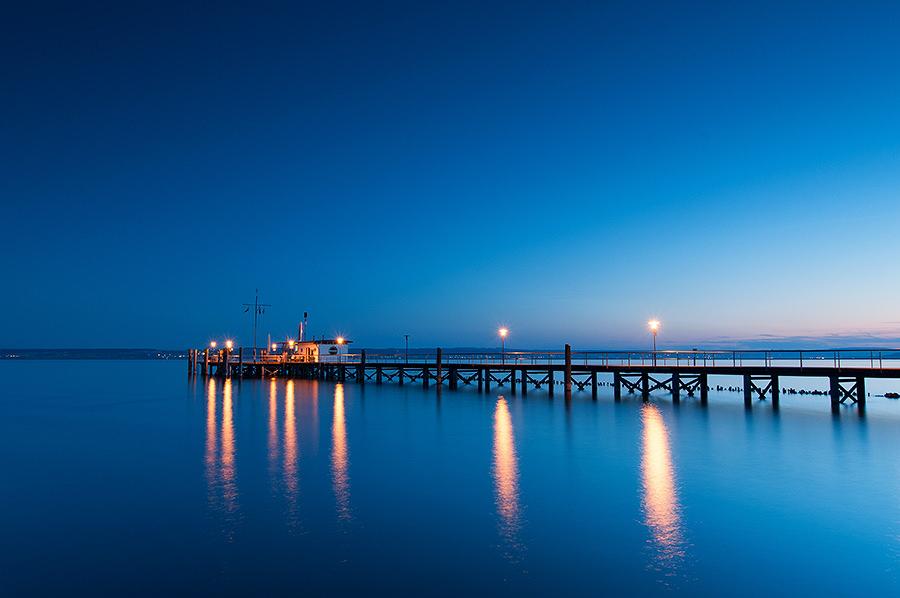 Blaue Stunde bei Hagnau