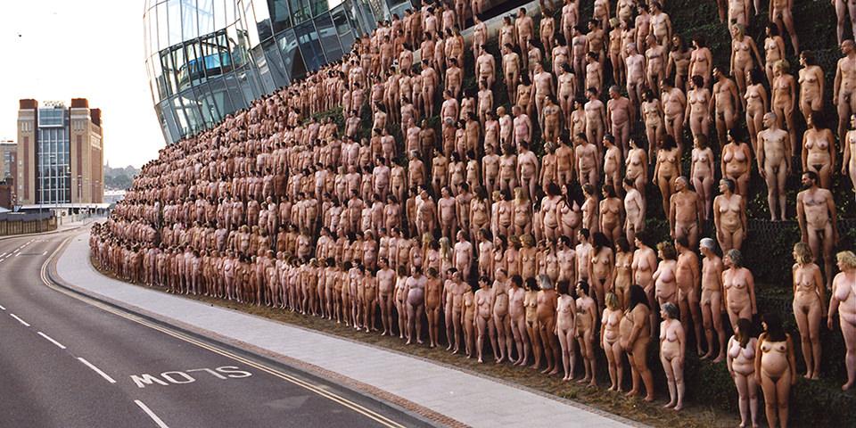 Fotografie: Die nackten Werke des Spencer Tunick -
