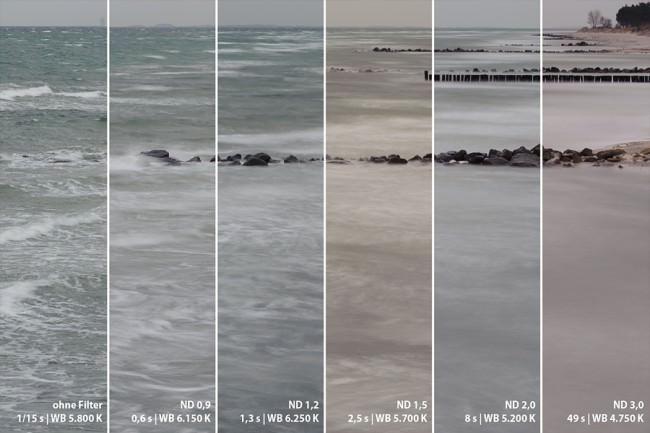 Wasser: Kombination diverser Graufilter