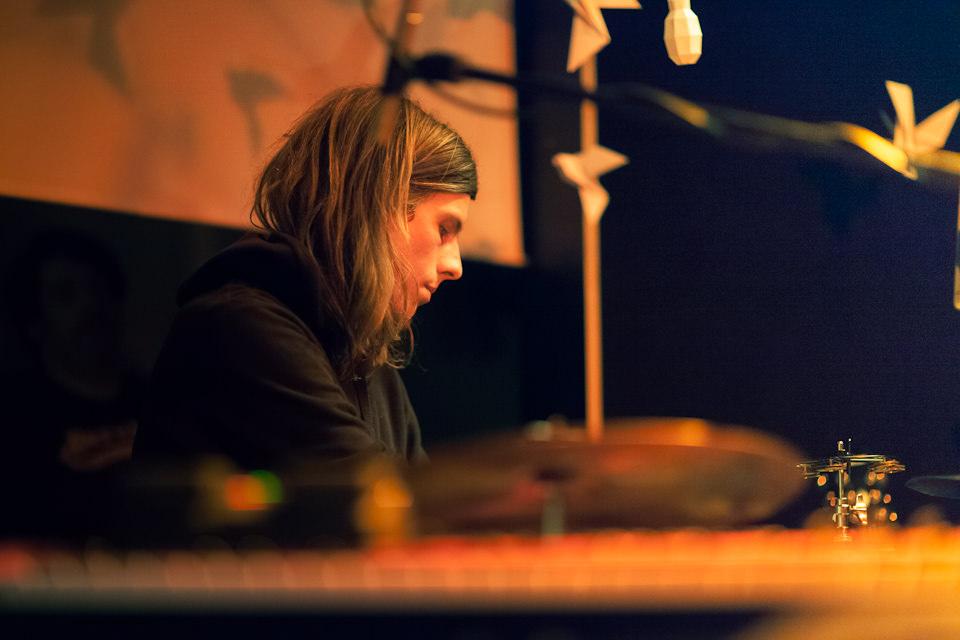 Der Schlagzeuger von Sóley