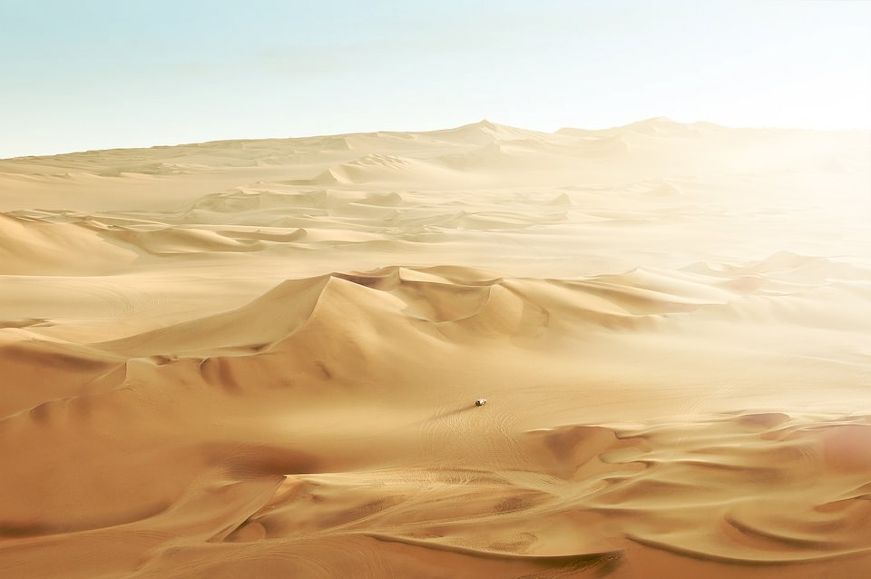 A Journey Through Sand