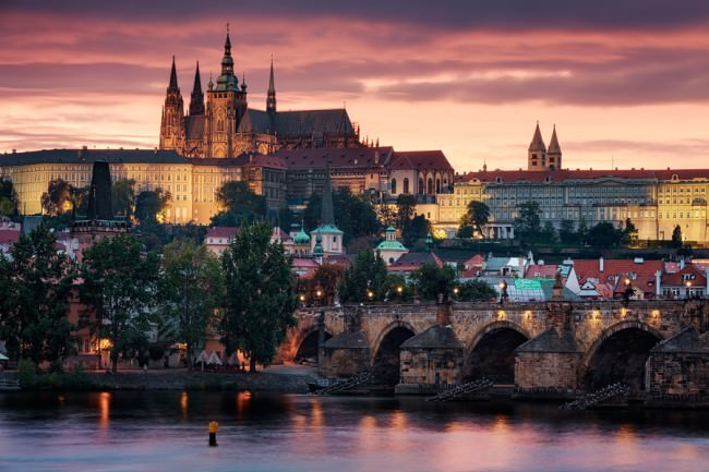 Prague Golden City