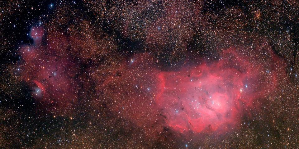M8 - Lagoon Nebula © Sylvain Girard