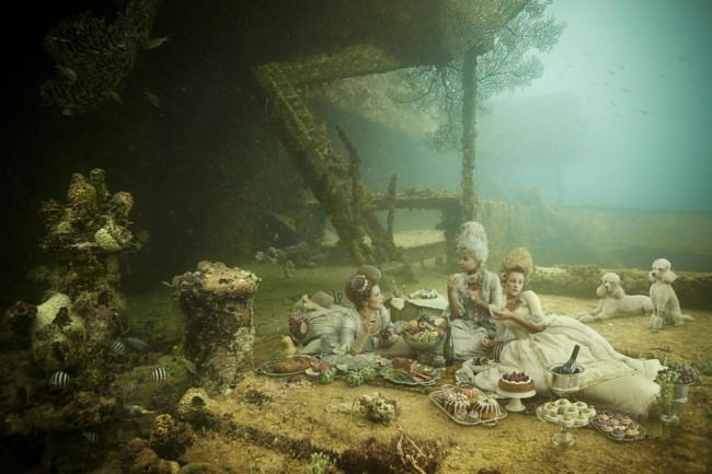 Stavronikita Project by Andreas Franke: Picnic for Three