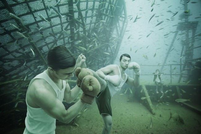 Vandenberg Project by Andreas Franke: Kenny hits Pete
