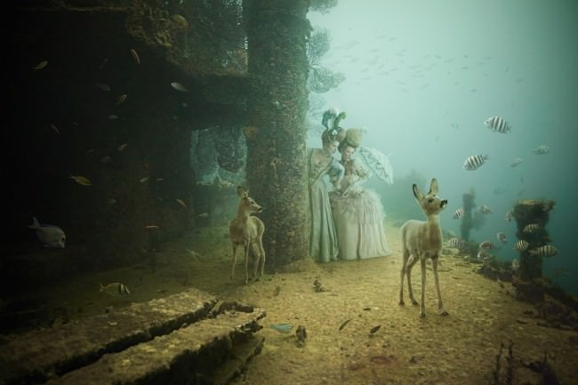 Stavronikita Project by Andreas Franke: Marie and Claudette