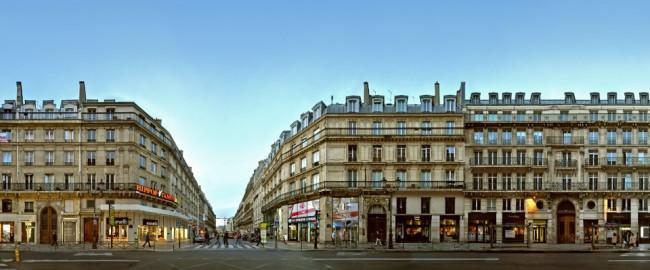 Paris Rue de Rivoli Panorama2 © Jörg Rom