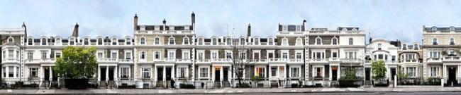 London Neville Terrace © Jörg Rom