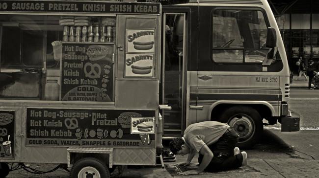 Sidewalk Prayer © Antonius