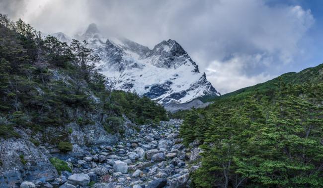 Patagonien: Torres del Paine, Flussbett © Helmut Steiner