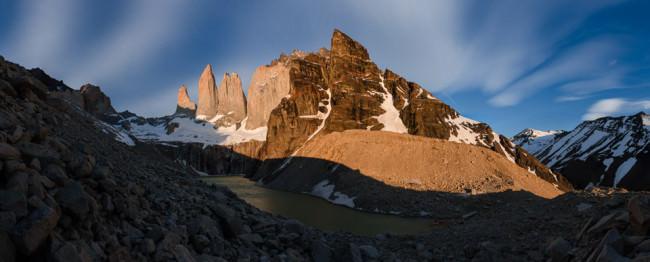 Patagonien: Torres del Paine © Helmut SteinerStitched Panorama