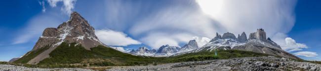 Patagonien: Torres del Paine © Helmut Steiner
