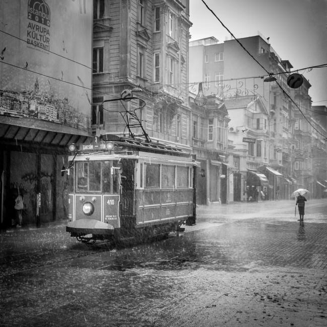 Historische Straßenbahn in Istanbul © Thomas Braun