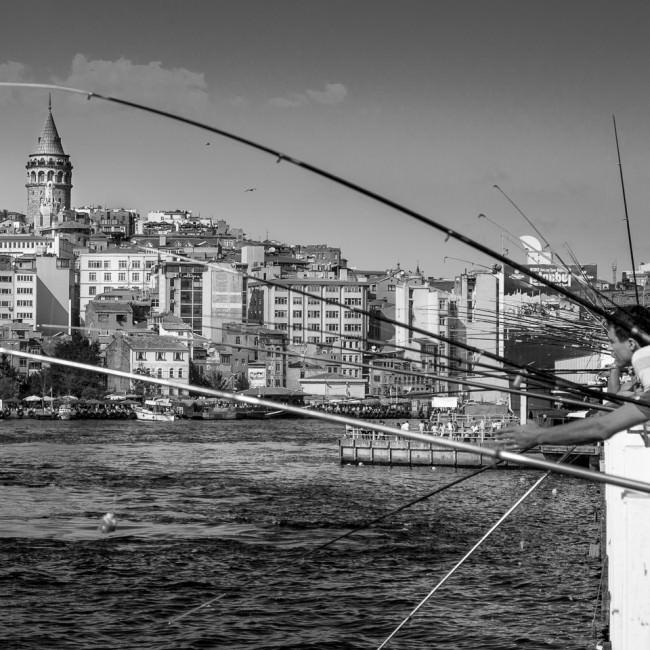 Angeln in Istanbul © Thomas Braun