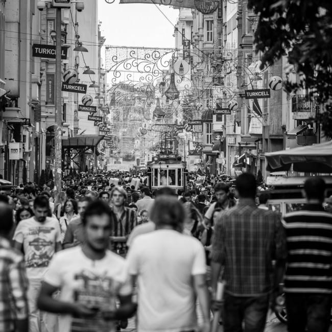 Istiklal Caddesi – die beeindruckendste Flaniermeile in Istanbul © Thomas Braun
