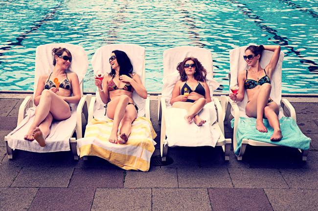 Am Pool © Jessica Prautzsch