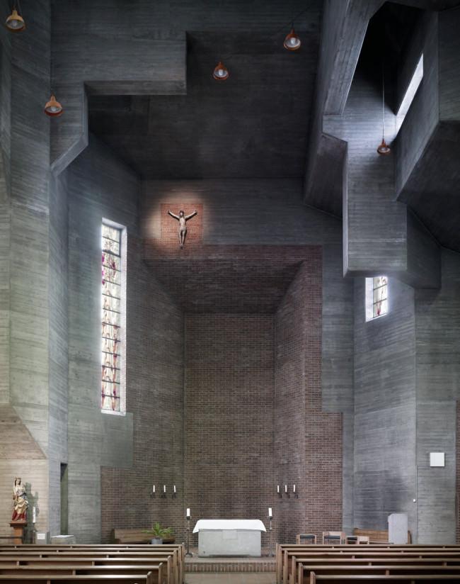 Christie Auferstehung | Köln | Gottfried Böhm | 1957 | © Fabrice Fouillet